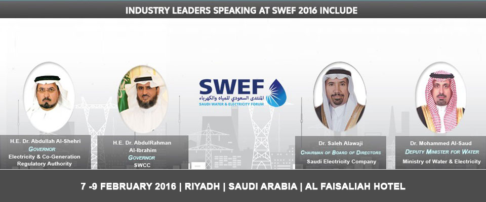 Saudi Water and Electricity Forum 2016